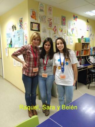 Raquel, Sara y Belén